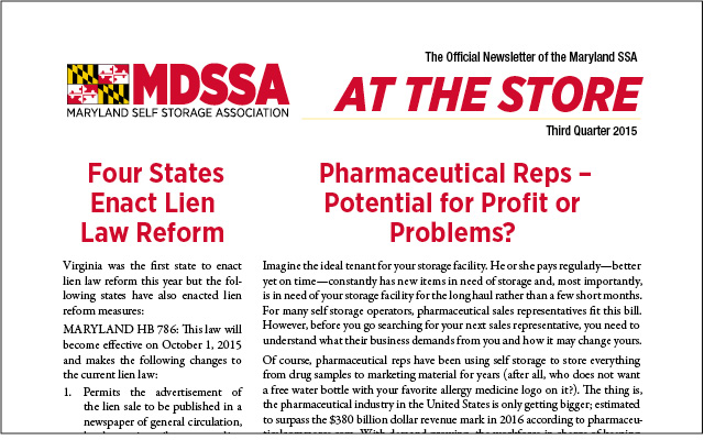 MDSSA Newsletter